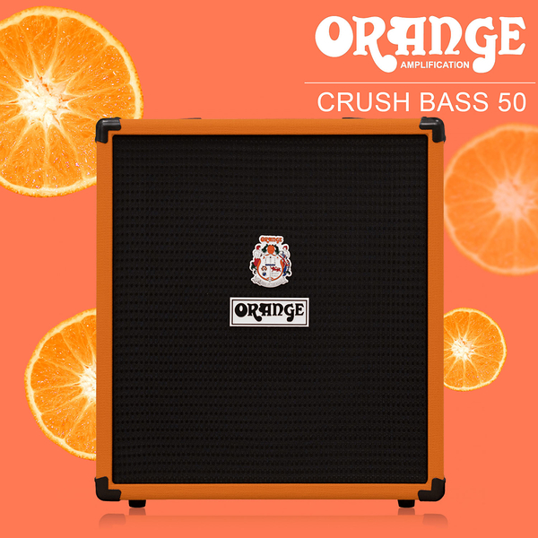 小叮噹的店- ORANGE CRUSH-B-50  50W 貝士音箱 bass音箱 CRUSH BASS