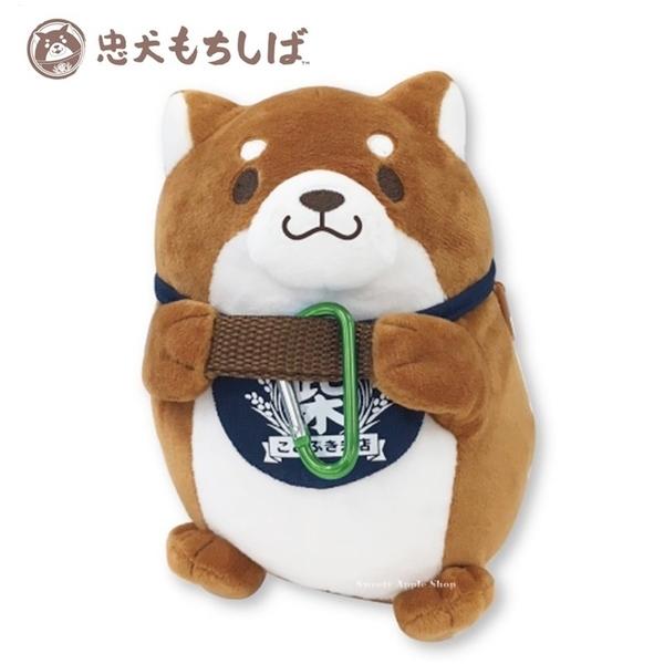 日本限定 柴犬麻糬 抱姿 扣式 玩偶娃娃 / 收納包