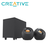 【Creative 創巨】PEBBLE PLUS 2.1 USB桌面喇叭