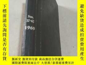 二手書博民逛書店NITROGEN罕見Nos 57-62 1969 氮Y21282