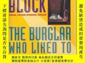 二手書博民逛書店The罕見Burglar Who Liked to Quote