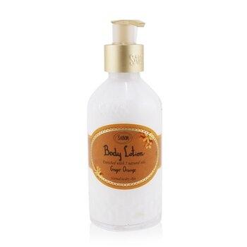 SW SABON-1 身體乳液(瓶裝) - 薑汁甜橘 200ml