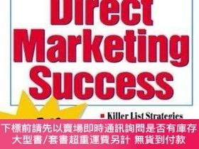 二手書博民逛書店2,239罕見Tested Secrets For Direct Marketing SuccessY2551