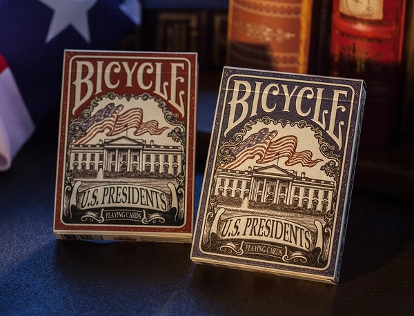 【USPCC撲克】Bicycle US PRESIDENT 凸盒