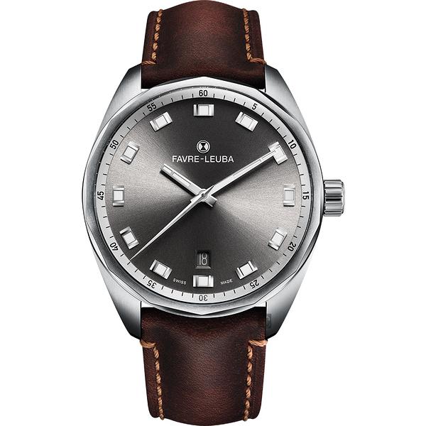 Favre-Leuba 域峰錶 SKY CHIEF DATE都會紳士機械手錶-40mm 00.10203.08.31.44