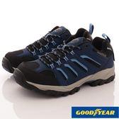 【GOODYEAR】男款郊山徒步戶外鞋-GAMO73506-石板藍-男段-0