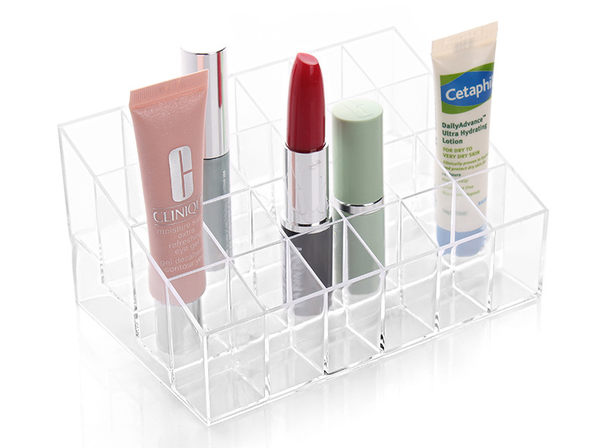 生活用品 收納架 口紅 唇膏 24格 化妝品收納【生活Go簡單】現貨販售【EKL0002】