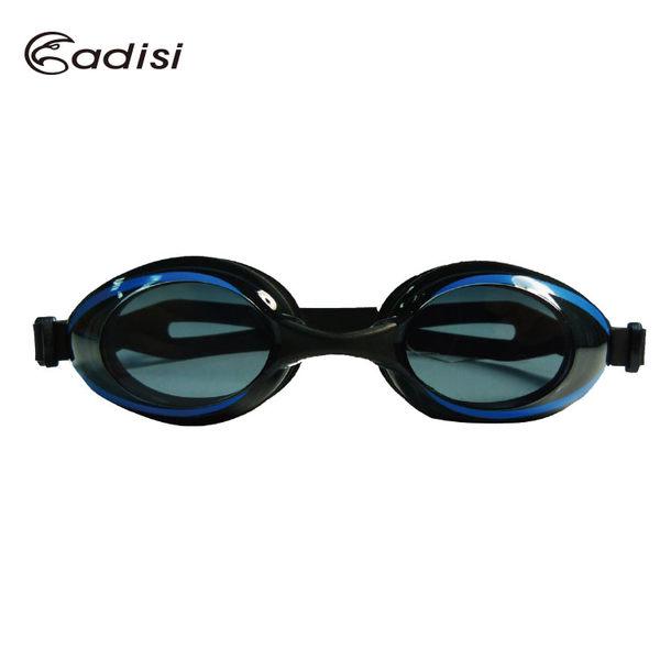 ADISI 舒適平光運動泳鏡 AS16052 / 城市綠洲 (有色鏡片.可拆式.防霧.抗紫外線)