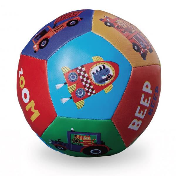 Crocodile Creek 5吋寶寶感統遊戲皮球(13cm)-交通世界