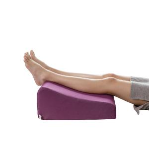 【Prodigy波特鉅】〈L款〉空氣布舒足枕-腿酸水腫適用可腰靠舒足枕-空氣紫