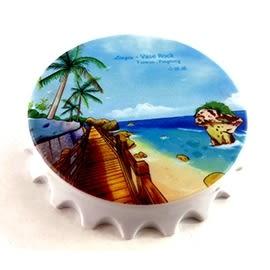 【收藏天地】台灣紀念品*開瓶器冰箱貼-記憶中的小琉球/小物 送禮 文創 風景 觀光 禮品