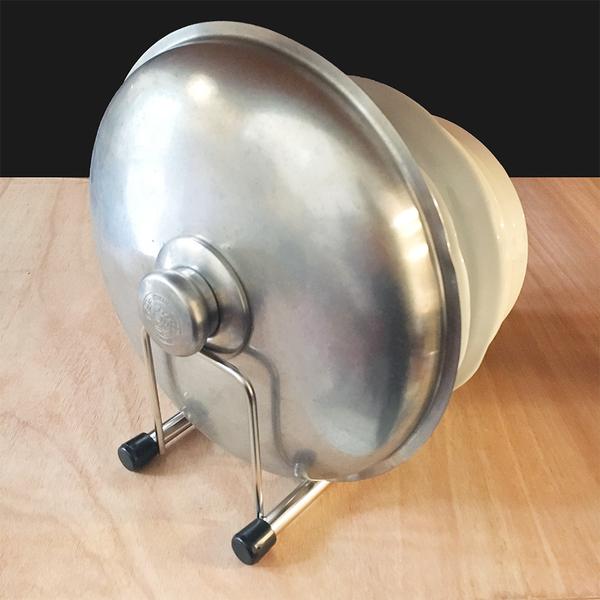 ㄇ型五格碗盤鍋蓋砧板置物架 瀝水架 桌上型廚房收納 阿仁304不鏽鋼 台灣製造