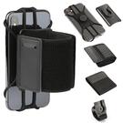 超值組合 三合一快速拆裝 運動臂帶 腕帶 自行車支架 可旋轉360度 APPLE iPhone 11 Pro Max Xs XR Xs Max 臂包