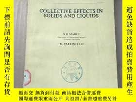 二手書博民逛書店collective罕見effects in solids and liquids(P931)Y173412