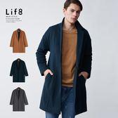Formal 高質羊毛 寬版落肩大衣【11186】