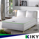 【2舒軟型】森呼吸養身備長炭│二代法式獨立筒床墊 5尺雙人標準 KIKY 2Hokuni