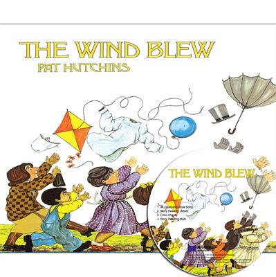 【麥克書店】THE WIND BLEW  /英文繪本+CD