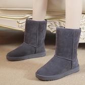 雪地靴女學生百搭雪靴