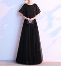 (45 Design) 長洋裝晚禮服禮服晚宴長禮服e黑色長禮服伴娘服中長禮長裙婚禮洋裝3