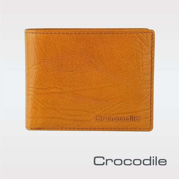 Crocodile Super Gaucho 牛頸紋系列 抽取式短夾 0103-08904