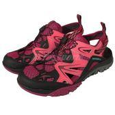 Merrell 戶外鞋 Capra Rapid Sieve 運動 越野 黑紅 休閒鞋 涼拖鞋 女鞋【PUMP306】 ML35500