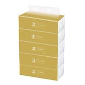 【漾】金色款抽取式衛生紙90抽x5包x20串-箱購