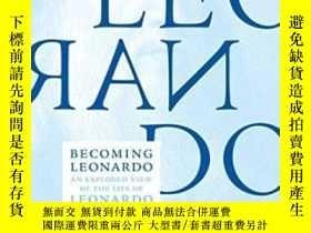 二手書博民逛書店Becoming罕見Leonardo-成為萊昂納多Y443421 Mike Lankford Melville