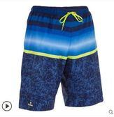 海灘褲 男速干大碼寬松花褲衩泳褲海灘海邊短褲平角度假SBT