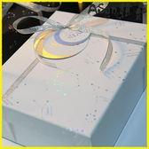 伊人閣 禮盒正方形禮品盒禮物盒大號禮物包裝盒