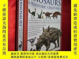 二手書博民逛書店Dinosaurs罕見& Prehistoric Creatur