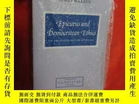 二手書博民逛書店Epicurus罕見and Democritean Ethics: An Archae... (大32開) 【詳見