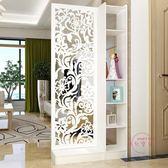 屏風現代簡約間廳櫃屏風隔斷時尚門廳玄關櫃酒櫃創意客廳隔斷櫃裝飾櫃
