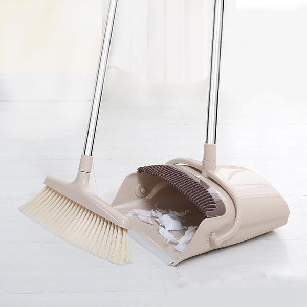 泰博思 掃把畚箕套裝組 掃地神器 家務清潔 家用掃把 打掃用具【F0304-F】