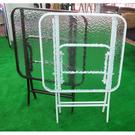 {{ 海中天休閒傢俱廣場 }}戶外休閒 塑膠桌椅系列 T3-1 60cm方桌