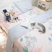 啾啾掰掰 S2單人床包雙人被套三件組 100%復古純棉 台灣製造 棉床本舖