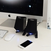 A4電腦音響臺式家用迷你低音炮手機通用筆記本USB小音箱組合