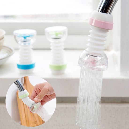 可伸縮水龍頭防濺器 過濾嘴 花灑器 自來水 濾水器 廚房 淨水器 噴頭  【P520】MY COLOR