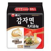 農心馬鈴薯麵100g*4【愛買】