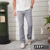 【JEEP】經典復古休閒長褲-藍