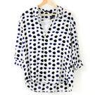 【MASTINA】兩件式文青風圓點襯衫-白