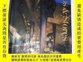 二手書博民逛書店SHOPS罕見& STORES 日本原版 建築類書Y187698
