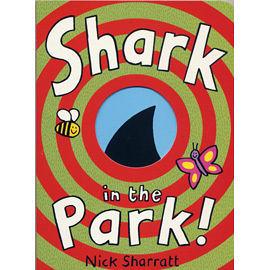 『繪本123‧吳敏蘭老師書單』 SHARK IN THE PARK /店長推薦/ 班級閱讀書單-低年級