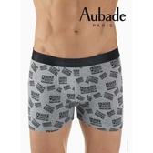 Aubade man-舒棉M-XL平口褲(戳記)