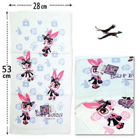 紗布童巾 skip bunny經典款 台灣製 雙鶴 SHUANG HO
