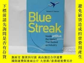 二手書博民逛書店Blue罕見Streak : Inside Jetblue, t