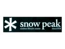 [好也戶外]snow peak 汽車貼紙-大 No.NV-004