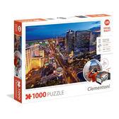 【義大利 Clementoni】VR拼圖-拉斯維加斯 Las Vegas (1000pcs) CL39404I 附VR眼鏡盒