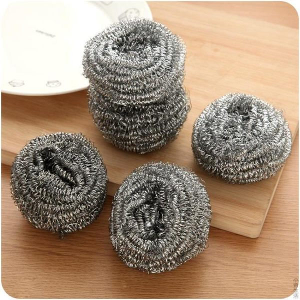 不銹鋼清潔球廚房用品鐵絲球洗碗刷子鋼絲球刷鍋神器洗鍋刷JRM-1450