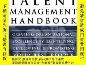 二手書博民逛書店The罕見Talent Management HandbookY256260 Lance Berger Mcg