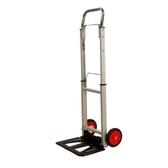 [ 家事達 ] HD- 9965 鋁製兩輪伸縮載物車  特價 折疊車 載物車 手推車 二輪車 行李車